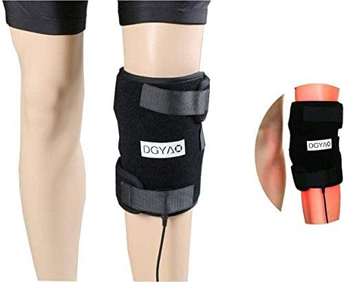 DGYAO® 660nm Red Light and 880nm Infrared Light Therapy - Combination 2 in 1 - Knee Elbow Pain Relief Device at Home ,Hands Free for Tissue Recovery