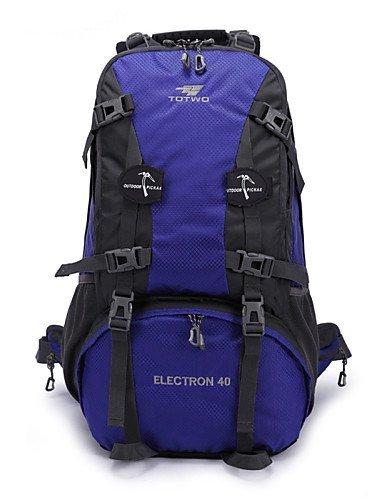 GXS Professional Outdoor Sport Reiten Camping wasserabweisend Multifunktions Schultern Bergsteigen Taschen 40L schwarz - schwarz 7Bb9z6