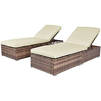 wicker chaise lounge target walmart outdoor piece chair set patio furniture dark brown aloha cushions