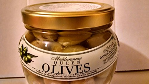 Mediterranean Queen Olives Stuffed With Danish Blue Cheese 33.51oz
