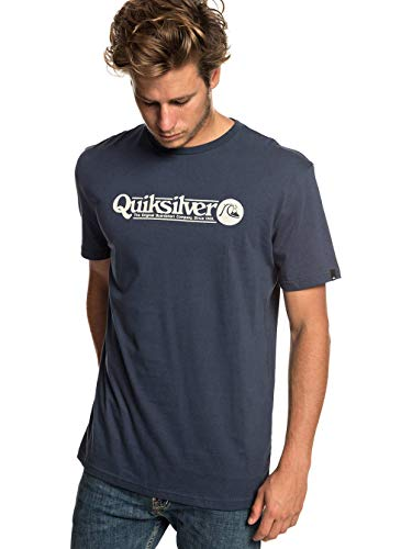 shirt Art Homme T Nights T Tickle Blue Quiksilver SqwBI