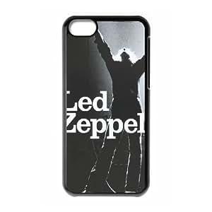 Hjqi - Personalized zeppelin Plastic Case, zeppelin Unique Back Case for iPhone 5C