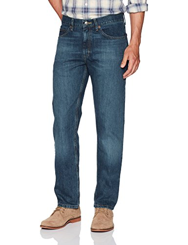 LEE Men's Regular Fit Straight Leg Jean, Silo, 29W x 34L