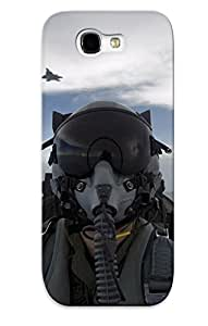 Yellowleaf Series Skin Case Cover Ikey Case For Galaxy Note 2(aircraft Army Military Pilot Self Shot )