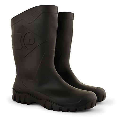 Dunlop - Botas para hombre Negro - negro