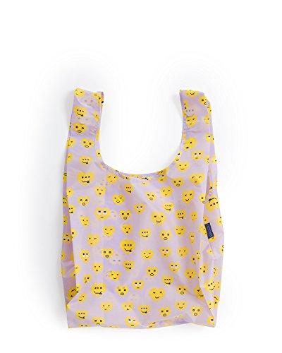 BAGGU Standard Reusable Shopping Bag, Eco-friendly Ripstop N
