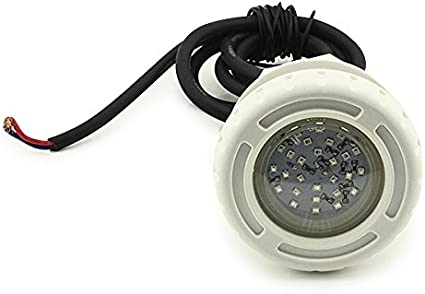 3 W RGB LED bajo el agua piscina iluminación de escalera 2, incluye tornillos para la pared con mando a distancia: Amazon.es: Jardín