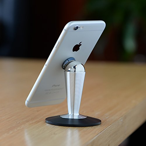 Nite Ize Original Steelie Tabletop Stand - Additional Pedestal Stand for Steelie Magnetic Phone + Tablet Mounting Systems by Nite Ize (Image #2)