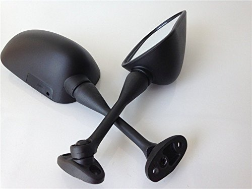 HTT Group Motorcycle Black Oem Aftermarket Mirrors Fit For 2003-2012 Honda Cbr 600Rr /2004-2007 Honda Cbr1000Rr