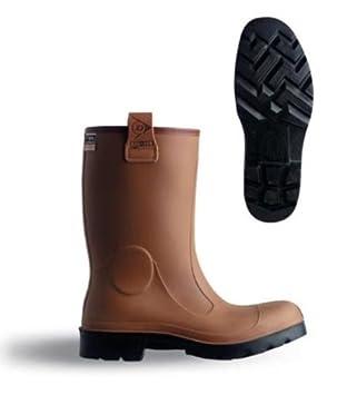 Dunlop – Purofort Rig-Air Full Botas de seguridad de goma x tamaño 10 (