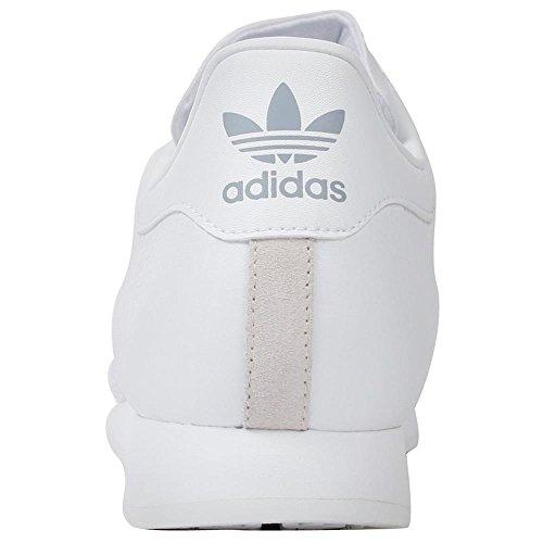 size 40 b0d09 4acca adidas Originals Men s Samoa Retro Sneaker,White Silver,10.5 D - Import It  All