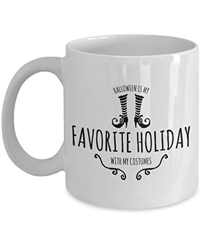 (Zane Wear halloween is my favorite holiday with my costumes - Coffee Mug Cup)
