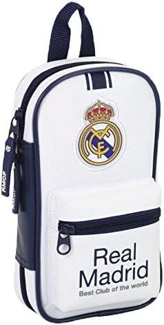 Real Madrid - Plumier con 4 portatodos llenos, 1ª equipacion temporada 2016/2017 (Safta 411654747): Amazon.es: Equipaje