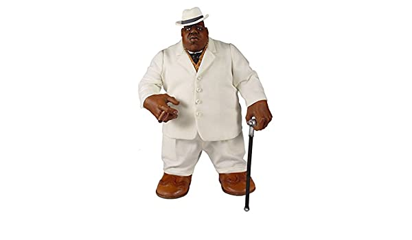Notorious B I G Collectors 2006 Mezco Biggie Smalls White Suit 9