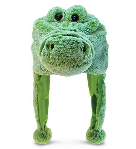 Puzzled Alligator Child's Super Soft Plush ()