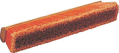 Carlisle 36222424 Flo-Pac Hardwood Block Medium Floor Sweep, Heavy Polypropylene Bristles, 24