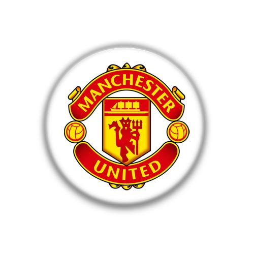 Manchester United : English Football League, Pinback Button Badge 1.50 Inch (38mm) ()