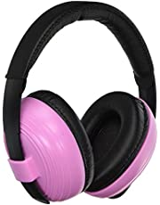 KidCo Whispears Infant & Child Hearing Protection, Pink, 0-5 Years