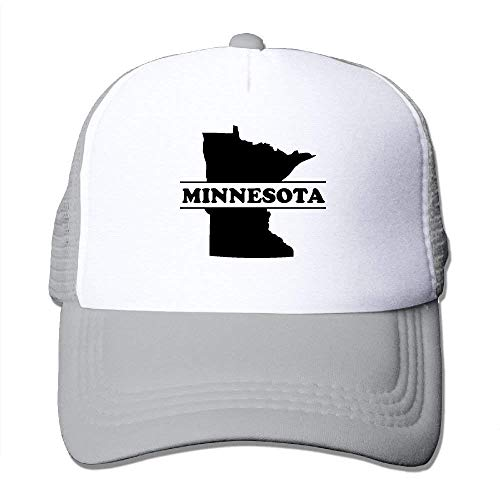 Tone béisbol Gorras Hat Two Mesh Hat Trucker Minnesota Adjustable State longkouishilong 5Pqtdwgt