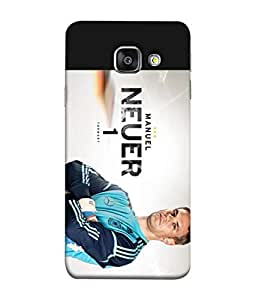 ColorKing Football Neuer Germany 01 Multicolor shell case cover for Samsung A7 2016