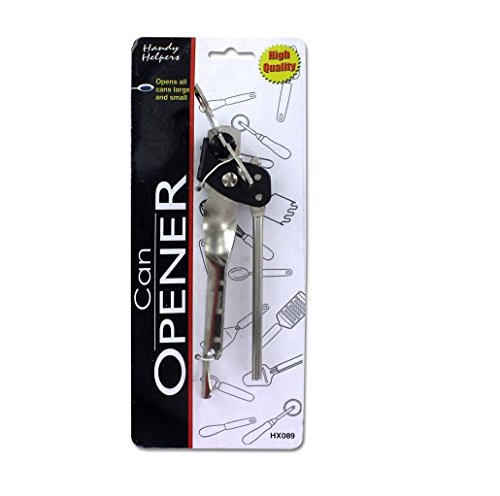 Metal Can Opener-Package Quantity,24 from Handy Helpers