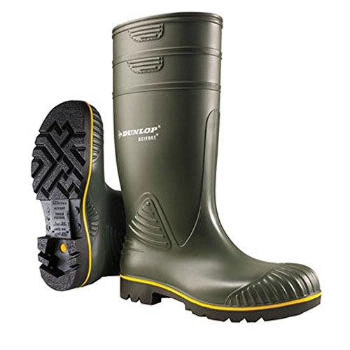Dunlop Mens Acifort Heavyies Wellies Verde