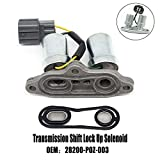 28200-p0z-003 Transmission Shift Solenoid Replacement for 1998 94-97 98 2002 Honda Odyssey Acura Accord Acura CL Torque Converter Lock-Up Solenoids transmission Control Solenoid module crv tcc