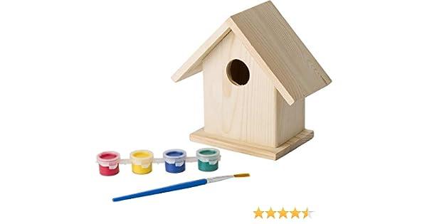 eBuyGB- Kit de Manualidades para niños Caja de Nido de jardín Pascua, Color Natural (13375): Amazon.es: Juguetes y juegos