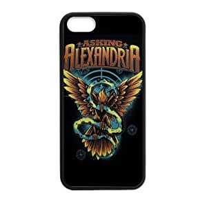 good CASECOCO Asking Alexandria AA Plastic TPU case cover Skin For iphone 6 plus ef64t6 plusTzFAf 6 plus