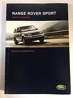 2006 genuine oem land rover range rover sport owner s manual rh amazon com 2006 range rover sport owners manual pdf 2006 range rover sport service manual