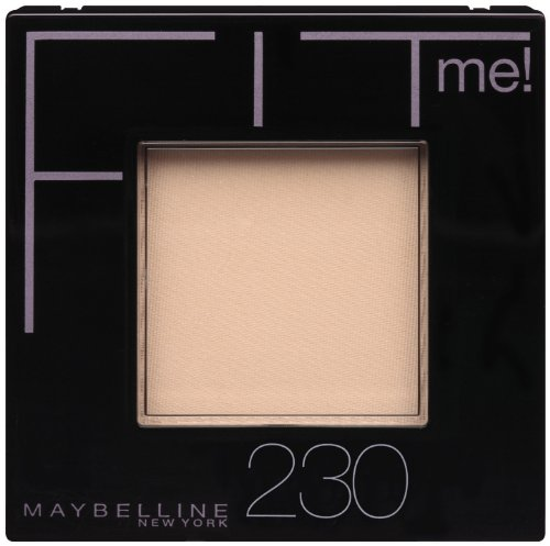 Maybelline New York Fit Me! Poudre, Buff Natural 230, 0,3 once