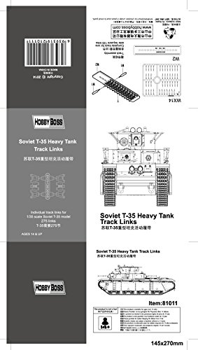 Hobby Boss T-35 Heavy Tank Track Links Kit