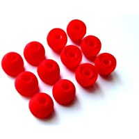 Purchase 12pcs: Large (L) Red Replacement Eartips Earbuds for Monster Beats Dr. Dre Tour, Powerbeats, urBeats 2.0, HeartBeats... deal