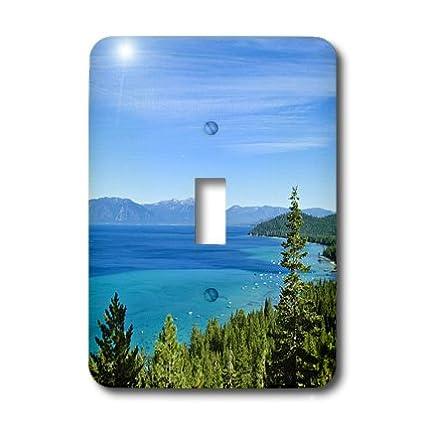 California Lake Tahoe Scenic Us05 Mde0080 Michael Defreitas Single Toggle Switch 3dRose lsp/_88521/_1 Usa