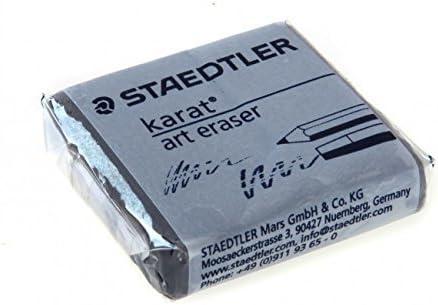 STAEDTLER KARAT ARTISTS ART KNEADABLE PUTTY RUBBER ERASERS [PACK of 2] by Staedtler