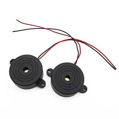 Goliton 2pcs high-Decibel Alarm Horn Active Buzzer Anti-Theft Device POW.W51.FMX.002.XXB