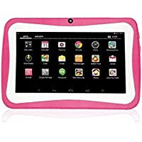 YJYdada 7inch Quad Core HD Tablet for Kids Android 4.4 KitKat Dual Camera WiFi Bluetooth