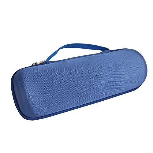 Khanka Carrying Case for JBL Charge 3 Waterproof Portable Wireless Bluetooth Speaker. Extra Room for Charger and USB Cable (Blue)