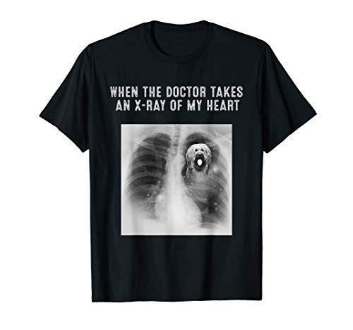 X-Ray Of My Heart BRIARD Dog Gifts T-Shirt ()