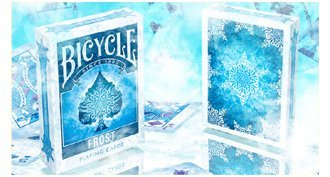 Bicycle Frost Playing Cards by Collectable Playing Cards (Cool Bicycles compare prices)