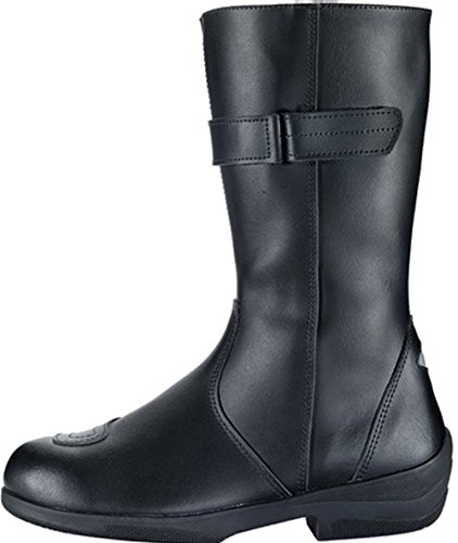 IXS ELENA LADIES MOTORCYCLE BOOTS LEATHER MOTORBIKE BOOT BLACK J&S (EURO 42 / UK 9) suueUdO