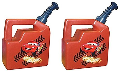 Midwest Gloves & Gear: Disney Cars Kids Garden Watering Can, 420 K, Paquete de 2