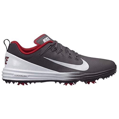 Nike Men's Lunar Command 2 Golf Shoe (14 D US, Thunder Grey/Metallic Silver)