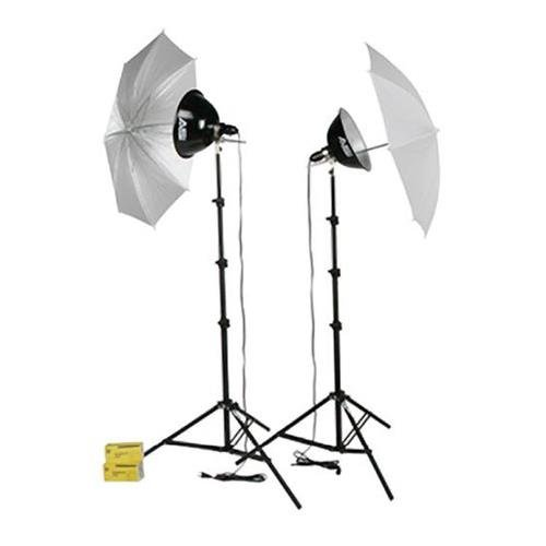 Smith-Victor - KT500U 500-Watt Thrifty Photoflood Kit