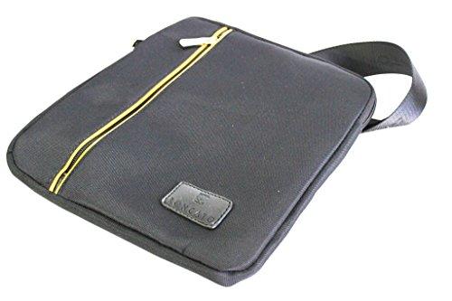 Borsello uomo Roncato tracolla piatta porta tablet 46.59.02 nero moda italiana