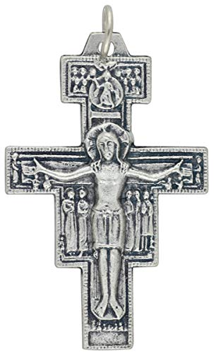 Gifts Catholic, Inc. Lot of 5- San Damiano Crucifix - 1 5/8