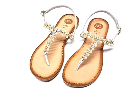 Gioseppo sandalo donna Piera bianco