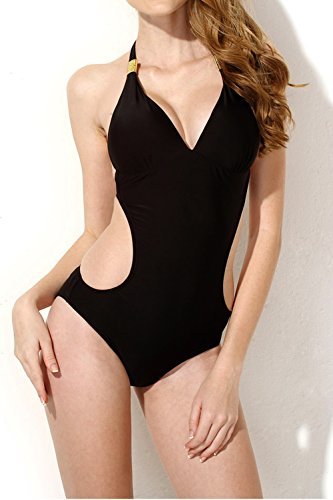 for Women One Piece Tummy Control Sexy Two Piece Bikini Set Tankini Bathing Suits Swimdress ()