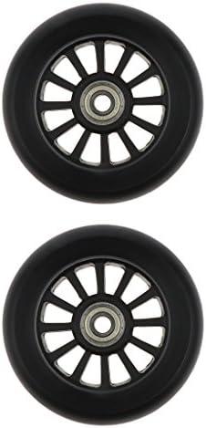 T TOOYFUL 2 stuks 100 mm lichte skates wielen pads reservewielen met lagers