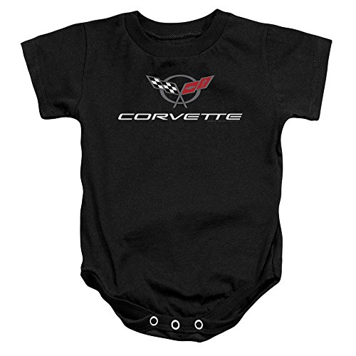 Sons of Gotham Chevy Corvette Modern Emblem Baby Onesie 6M